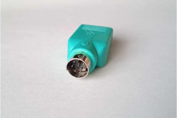 (Adaptor Nou) PS2 la USB pentru mouse
