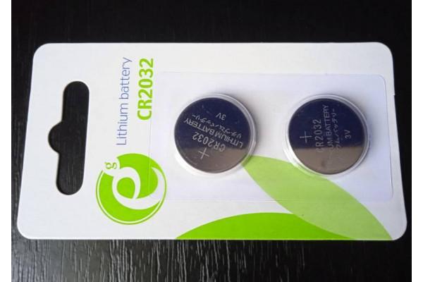 (Baterii Noi) Energenie CR2032 Blister 2buc 3V Litiu