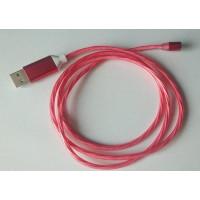 (Cablu Nou) Magnetic 1m Joc de lumini (Rosu)