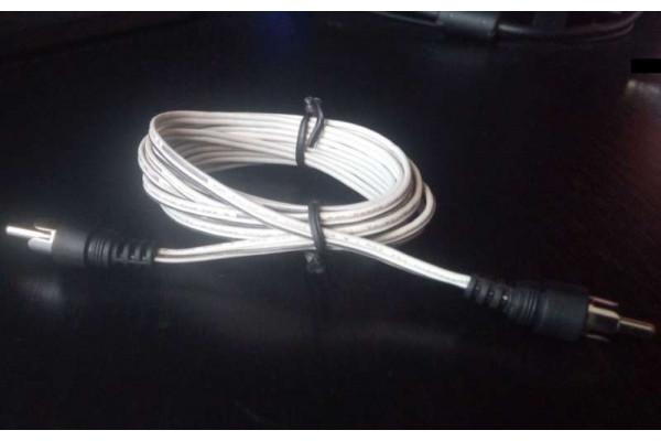 (Cablu audio Second-Hand) Genius mono 2,4m RCA sunet boxe