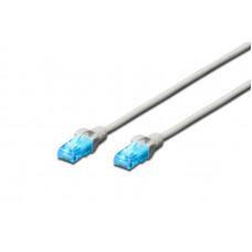 (Cablu retea Nou) Assmann Digitus CAT.5e U-UTP LAN patch router 0.5m