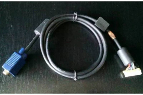 (Cablu video Second-Hand) VGA cu mufa pentru placa monitor