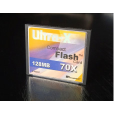 (Card Second-Hand) Compact Flash Ultra-X 128MB 70X