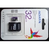 Card microSDHC ADATA Premier 32GB UHS-I Class 10 + Adaptor SD (Nou)