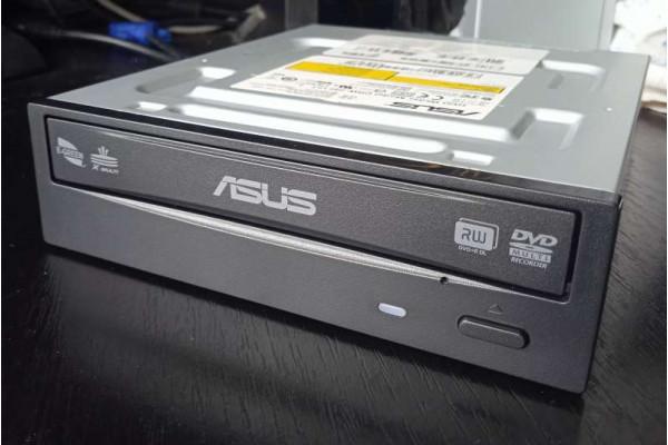 (DVD Writer Second-Hand) Asus SATA negru DRW-24F1ST
