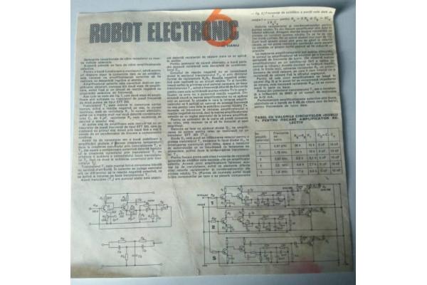 (Document Vintage) Robotul Electronic nr. 6