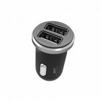 (Incarcator Nou) Silicon Power De Masina 5V 2.1A Fast Charging 2xPort USB