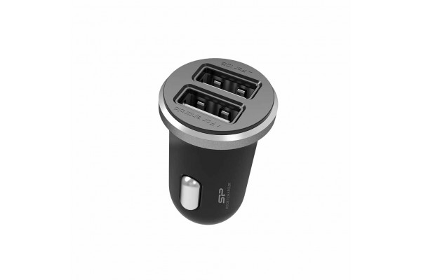 Incarcator Silicon Power De Masina 5V 2.1A Fast Charging 2xPort USB (Nou)
