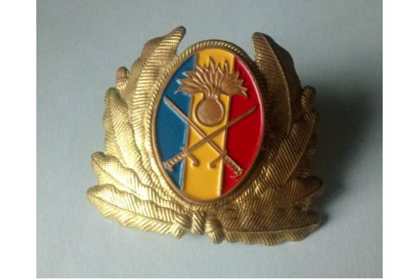 (Insigna Militara Vintage) Cascheta Razboiul Rece  - Ofiter Superior Infanterie Română 1960