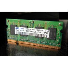(Memorie laptop Second-Hand) Samsung 512MB DDR2 667MHz PC2-5300S M470T6554EZ3-CE6