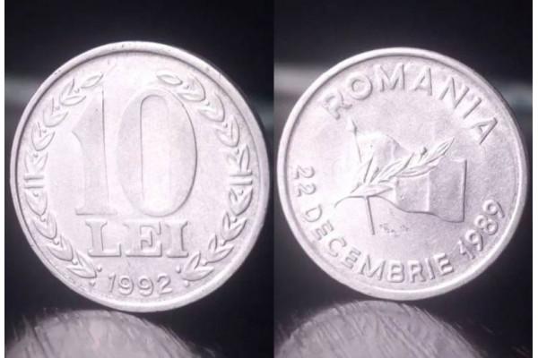 (Moneda Veche) 10 lei 1992