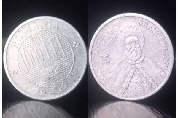 (Moneda Veche) 1000 lei 2001 (Constantin Brancoveanu)
