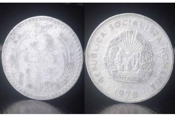 (Moneda Veche) 5 lei 1978 RSR