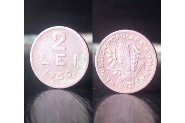 (Moneda Veche) 2 lei 1950 - RPR