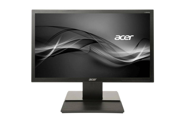 "Monitor Acer 18.5"" LED TN Wide 1366x768 5ms VGA Negru V196HQL (Monitor Nou)"