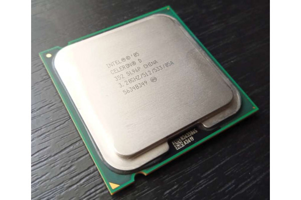 (Procesor Second-Hand) Intel Celeron D 352  3,2GHz Socket 775 SL96P (2005)