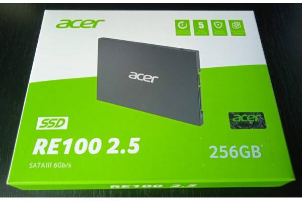 SSD Acer RE100 256GB SATA3 2.5inch (Nou)