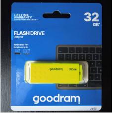 (Stick USB Nou) Goodram 32GB USB 2.0 Galben UME2