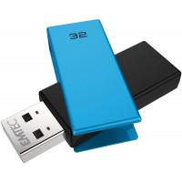 Memorie USB Emtec 32GB USB 2.0 Albastru Flash Drive C350 Brick (Noua)
