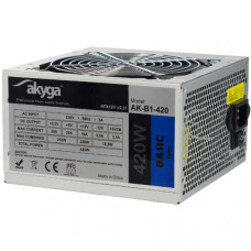(Sursa PC Noua) Akyga ATX 420W 3xSata 2xMolex 4 pini ATX 20+4pini Alimentare Ventilator 12cm
