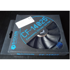 (Ventilator Nou) ID-Cooling 140x140x25mm 12VDC, 0.16A LED Albastru CF-14025-B