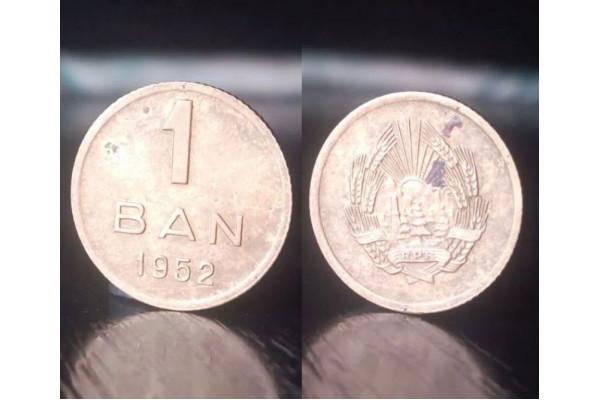 (Moneda Veche) 1 ban 1952 - RPR
