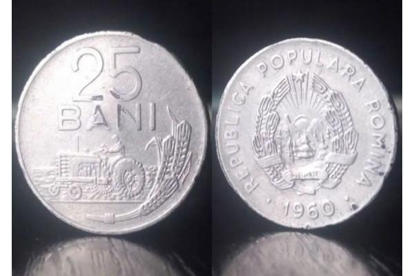 (Moneda Veche) 25 bani 1960 - RPR