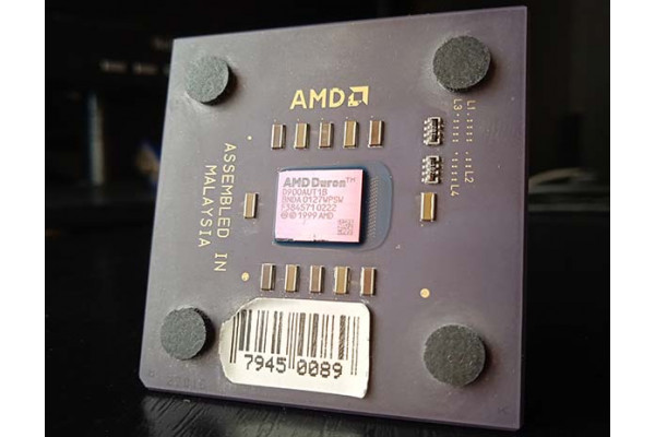 (Procesor Second-Hand) AMD Duron (Spitfire) D900AUT1B 900MHz socket A/462 K7 1999