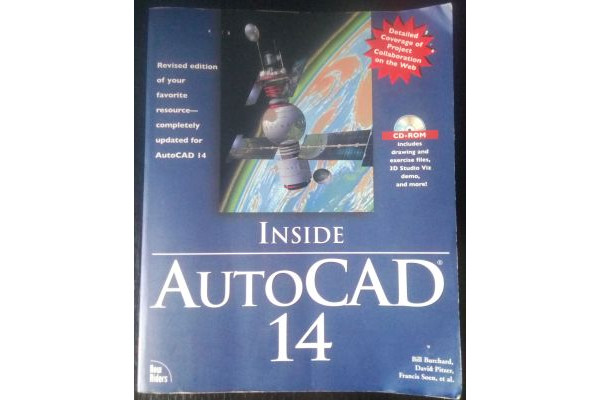 (Carte Veche) AutoCAD 14 Inside - International Bestseller SUA  +CD (1997) Engleza