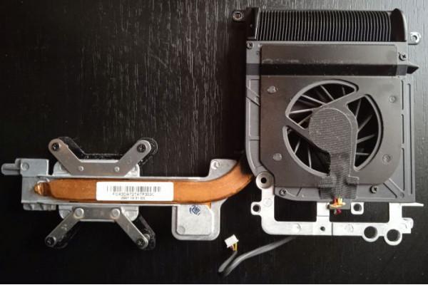 (Heatsink Cooler Radiator Second-Hand) pt. procesor laptop HP Pavilion